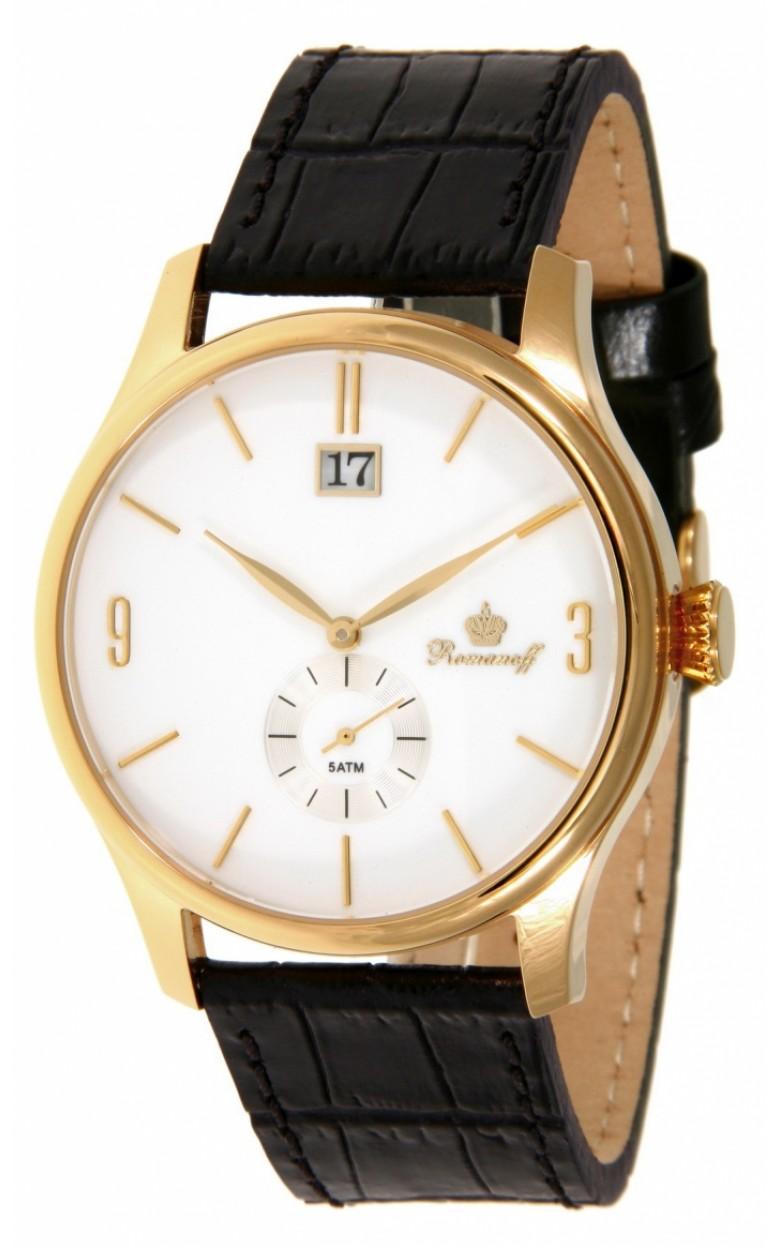 30521A1BL российские кварцевые наручные часы Romanoff