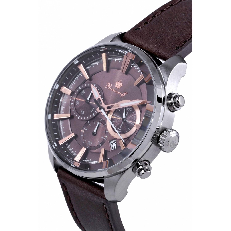 3654T/TB3BL российские кварцевые наручные часы Romanoff  3654T/TB3BL