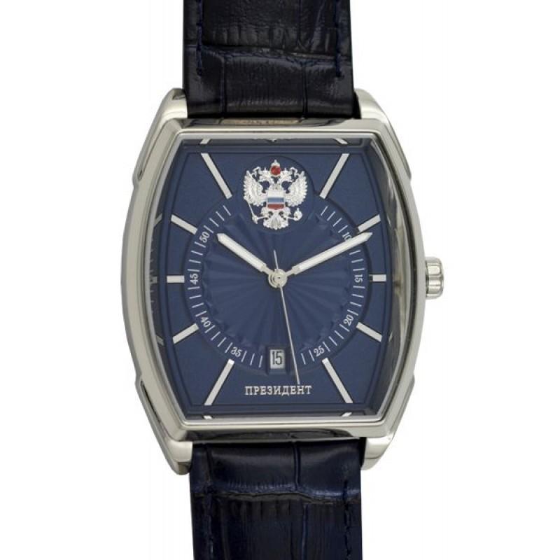 4250291/8215 российские мужские механические наручные часы Президент логотип Герб РФ  4250291/8215
