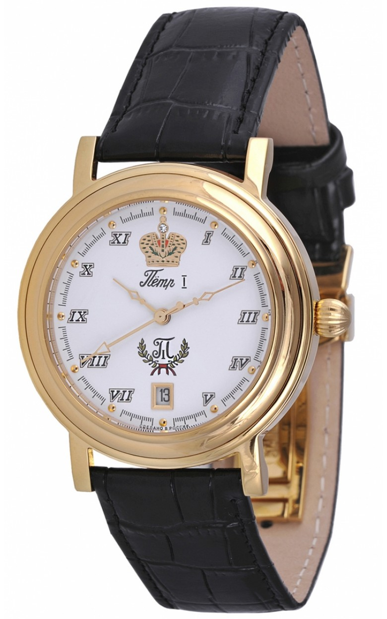 8215/10861BLPeter1 российские мужские механические наручные часы Romanoff