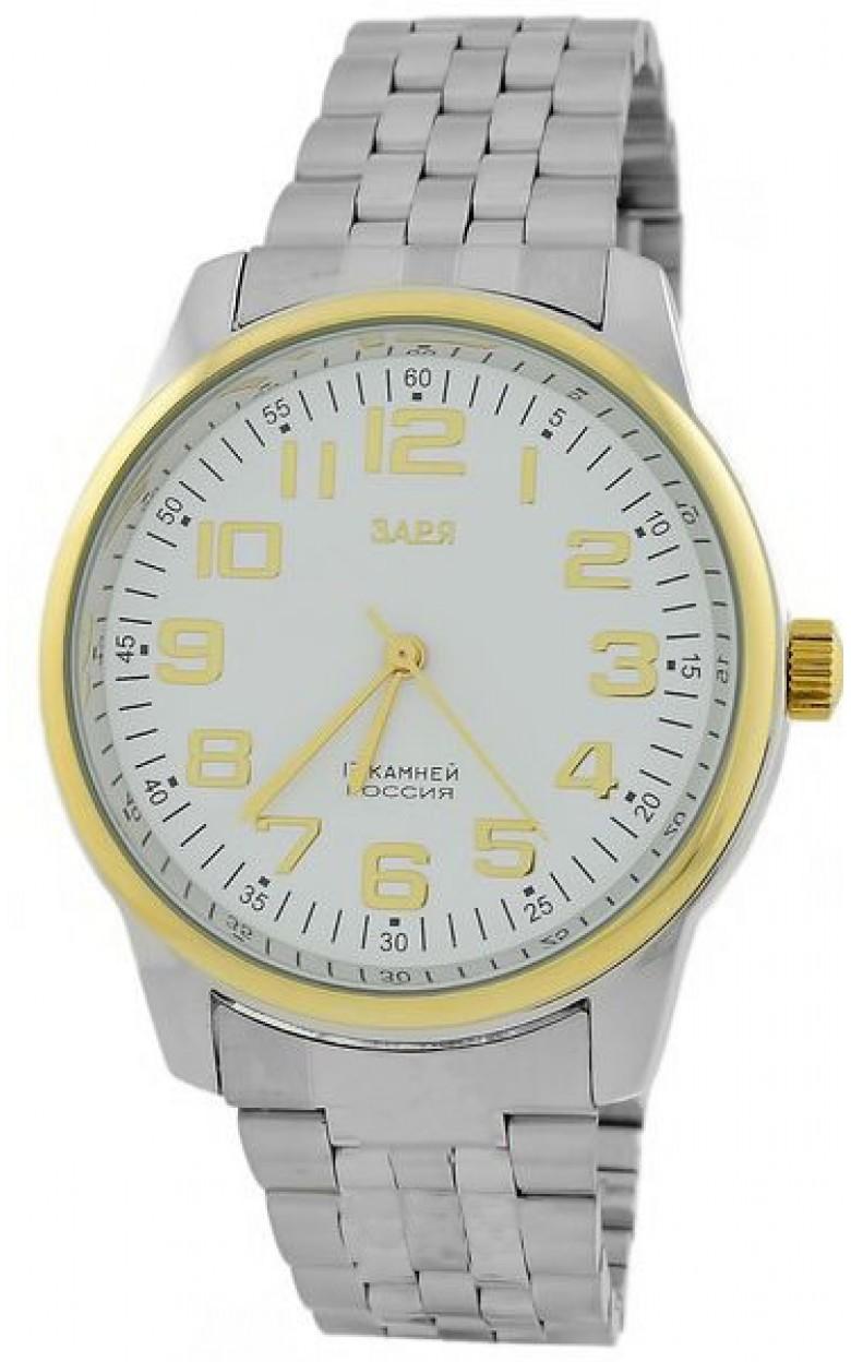 2609K/G5122211Б ф01 российские мужские механические часы Заря  2609K/G5122211Б ф01