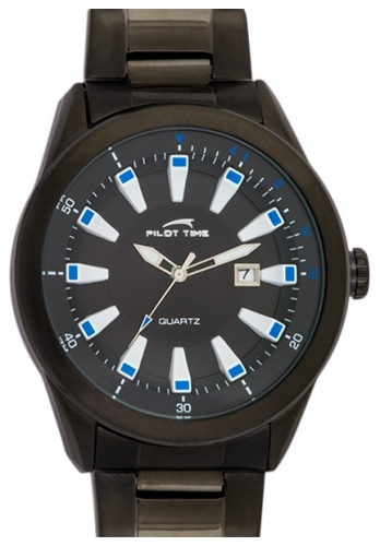 "0715190  кварцевые наручные часы Pilot Time ""Pilot-Time""  0715190"
