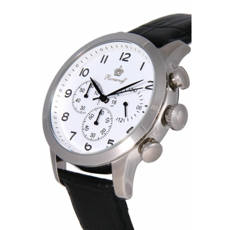 6152G1BL российские кварцевые наручные часы Romanoff