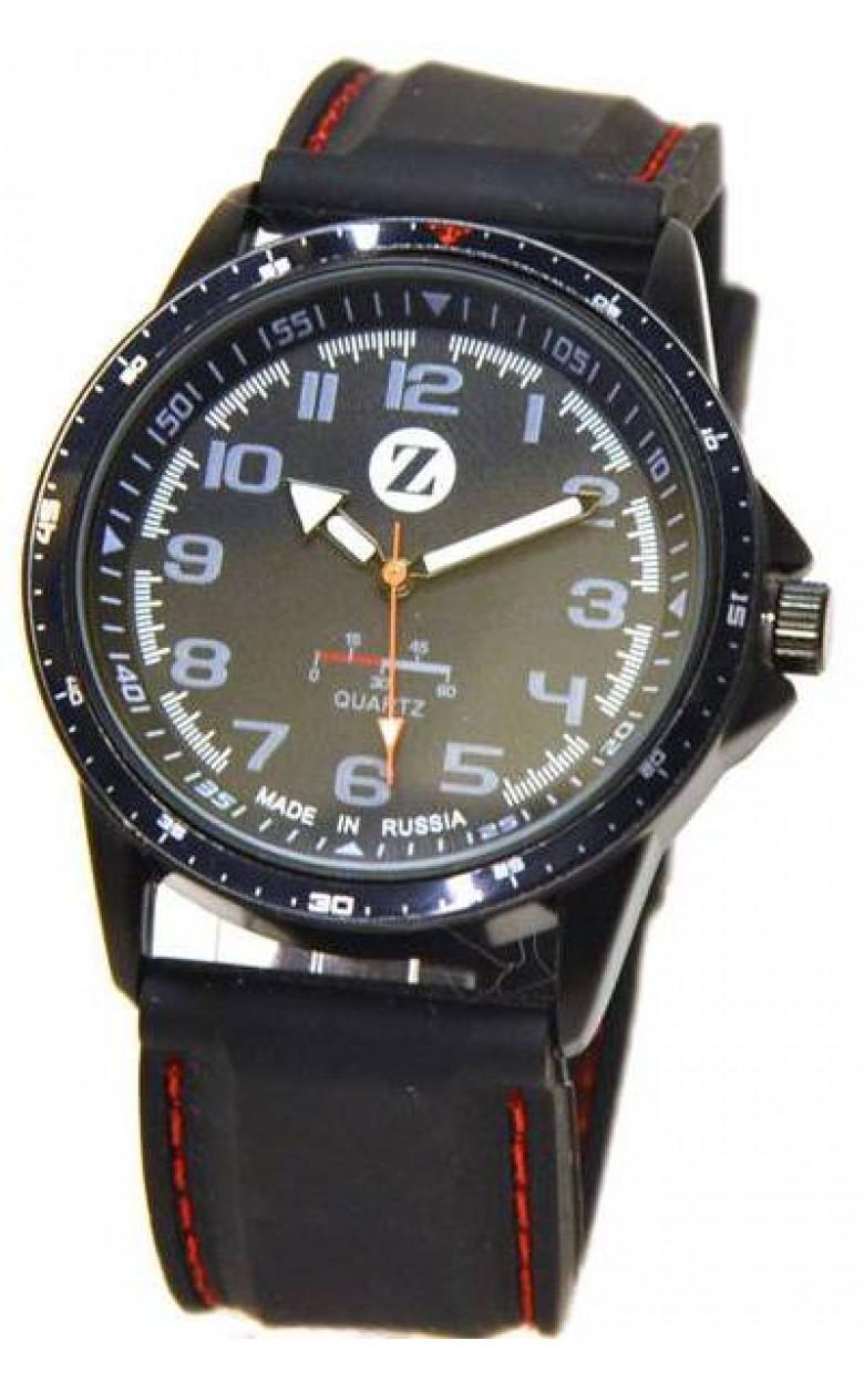GR049-5-ч российские мужские кварцевые часы Zaritron  GR049-5-ч