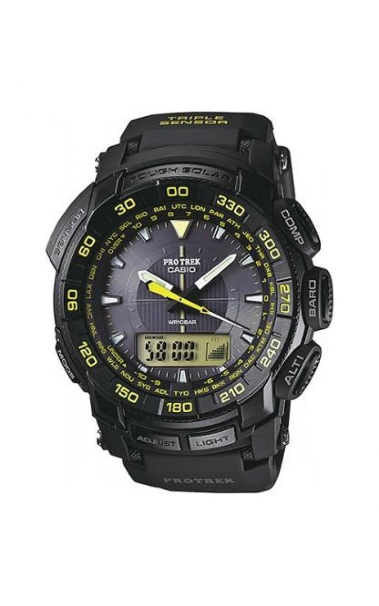PRG-550-1A9 японские кварцевые наручные часы Casio