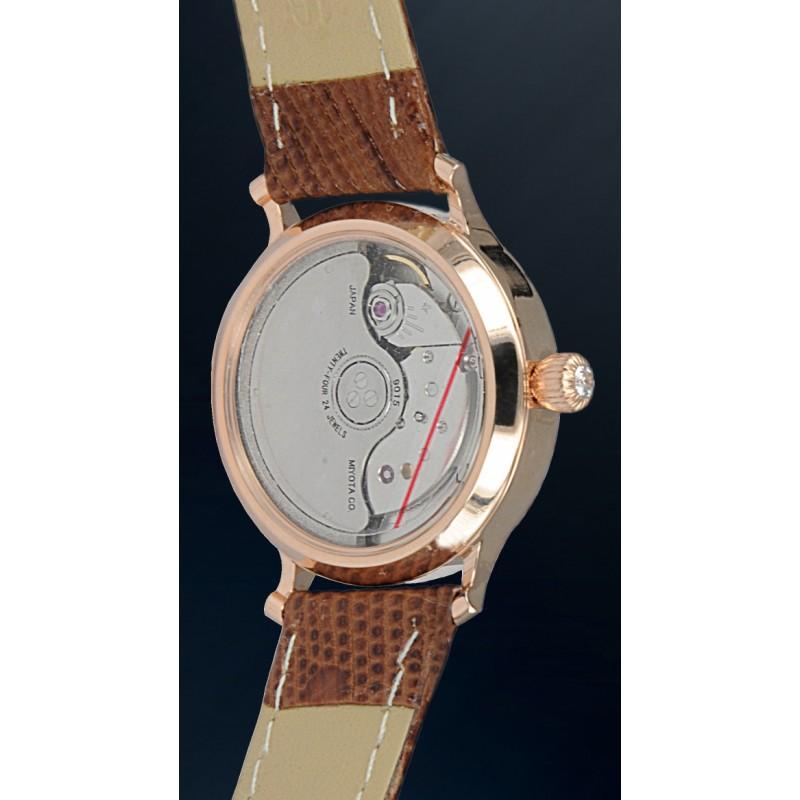 320.2.9015 российские золотые женские механические часы Continent  320.2.9015