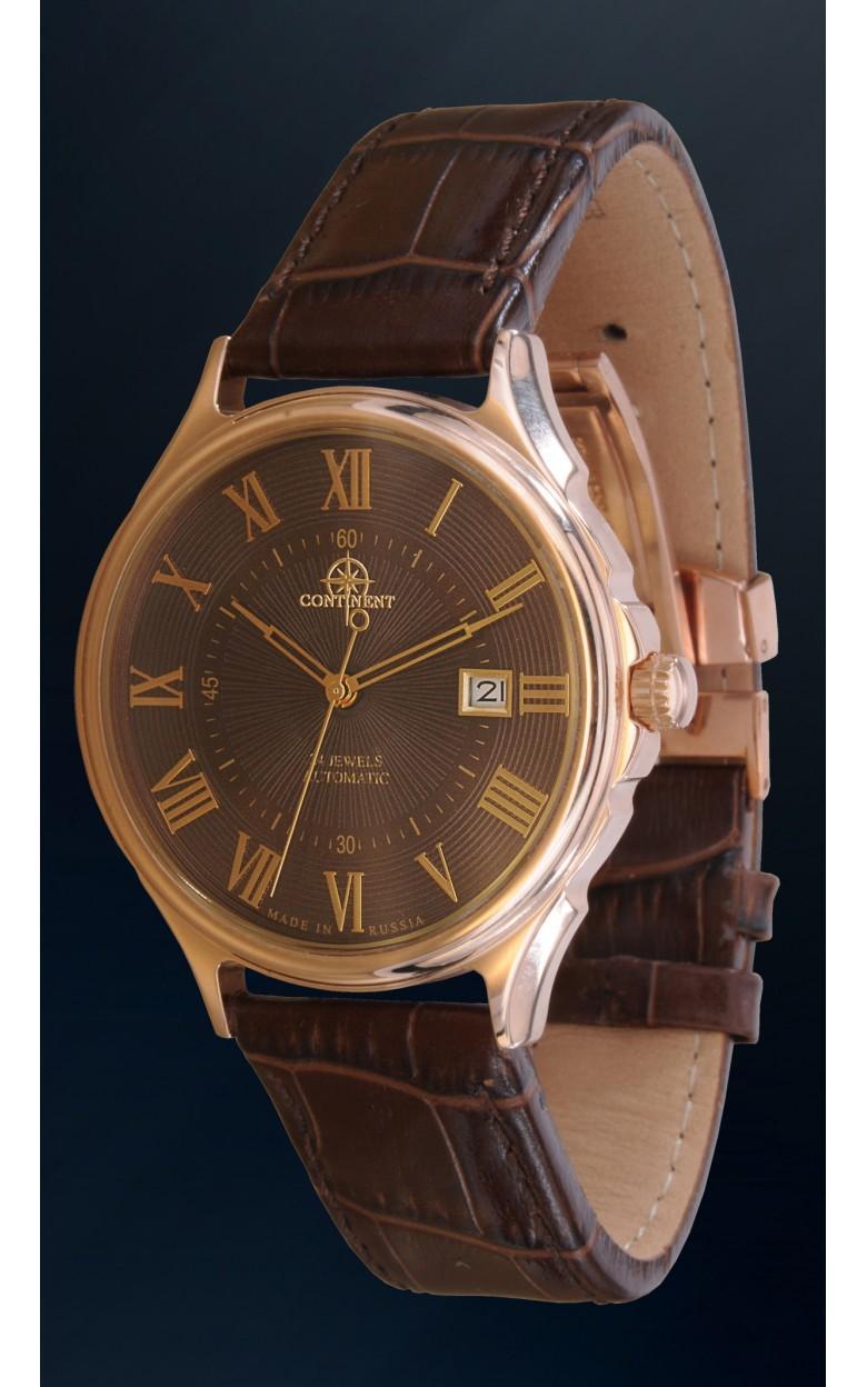 124.4.9015 российские золотые механические наручные часы Continent  124.4.9015