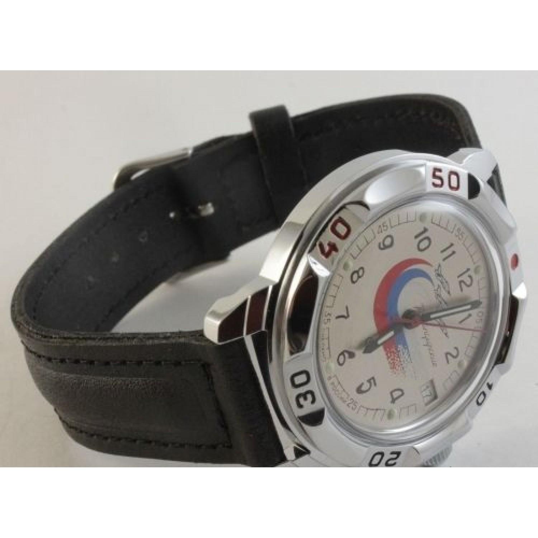 """431562/2414 российские военные механические наручные часы Восток """"Командирские"""" для мужчин  431562/2414"""
