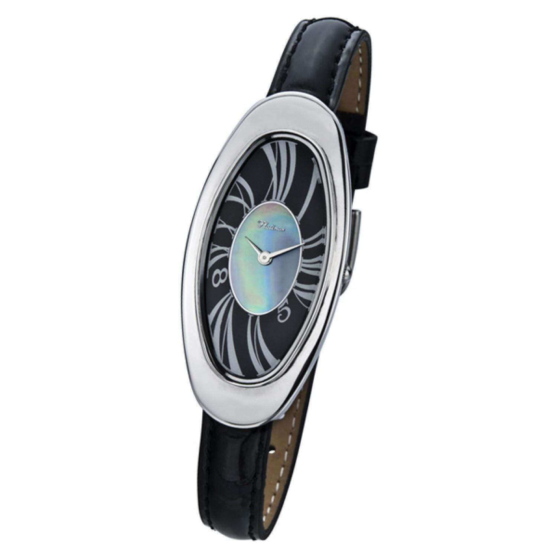 92800.121 российские серебрянные женские кварцевые наручные часы Platinor