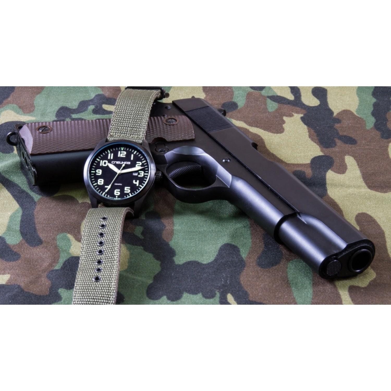 С2864321-2115-05 российские мужские кварцевые наручные часы Спецназ
