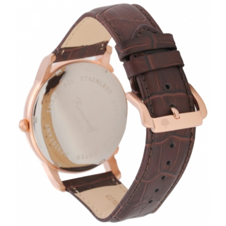 1124B1BR российские мужские кварцевые часы Romanoff  1124B1BR