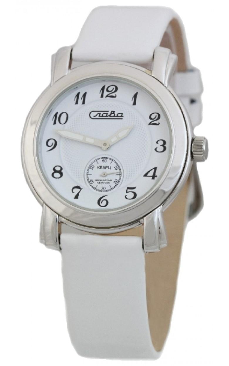 deb0ec4c С4042042/1069-20,15 российские серебрянные женские кварцевые часы Слава