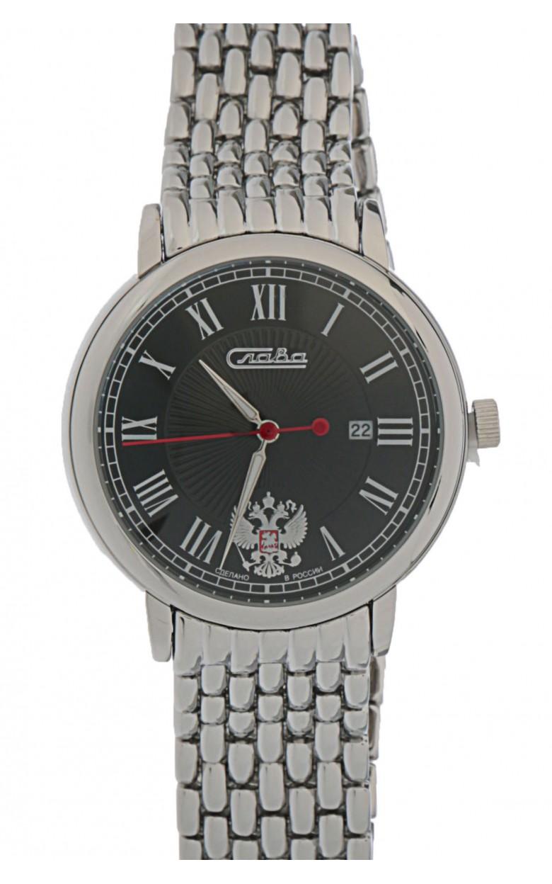 1411706/2115-100 российские мужские кварцевые наручные часы Слава