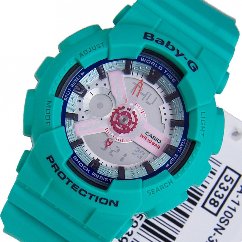 BA-110SN-3A японские кварцевые наручные часы Casio