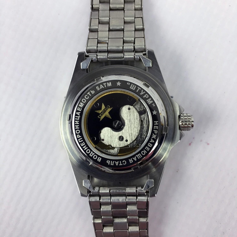 С8211195-1612 российские мужские механические часы Спецназ