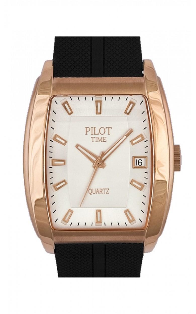 1259591кк российские кварцевые наручные часы Pilot-Time