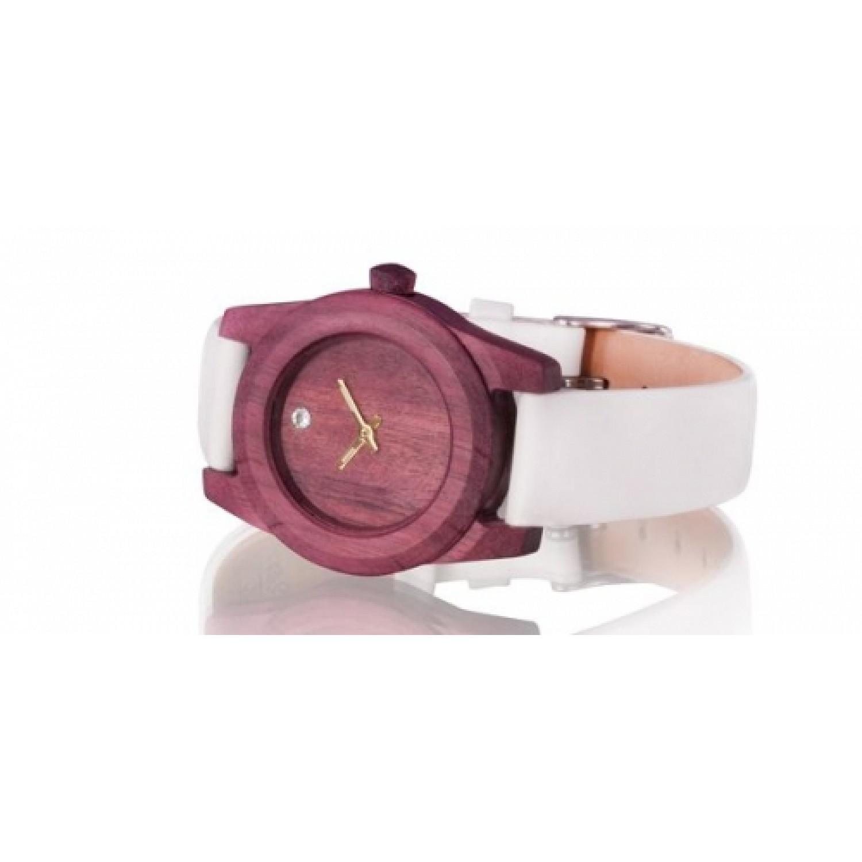 W2 Purple российские кварцевые наручные часы AA Wooden Watches для женщин  W2 Purple