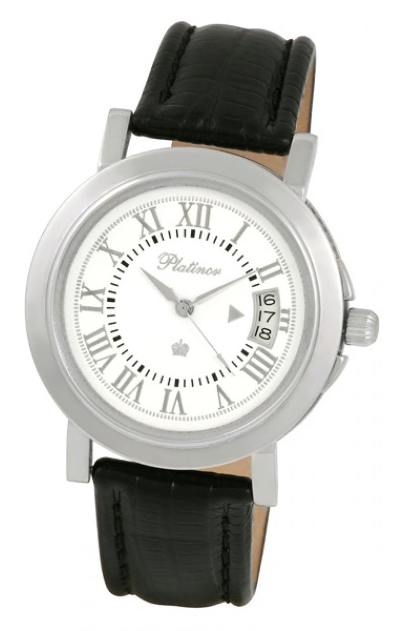 40800.219 российские серебрянные мужские механические наручные часы Platinor