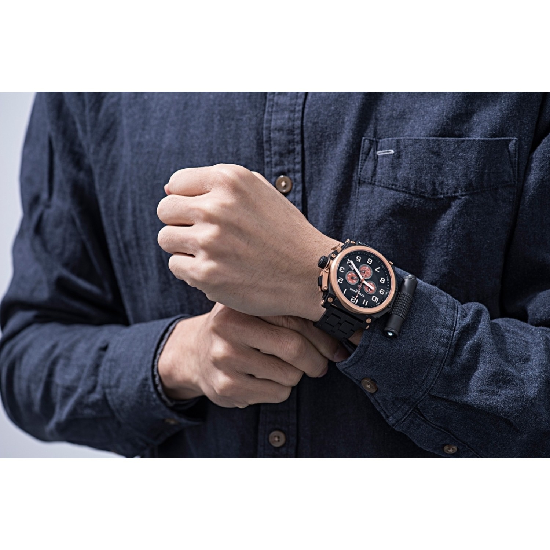 С9153341-5130.D российские тактические мужские кварцевые наручные часы Спецназ