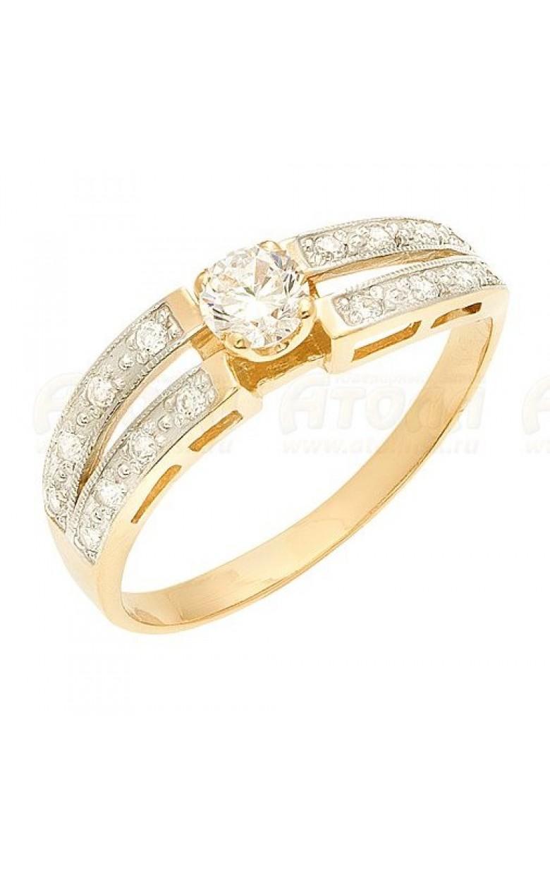 10319 серебряное кольцо 925*