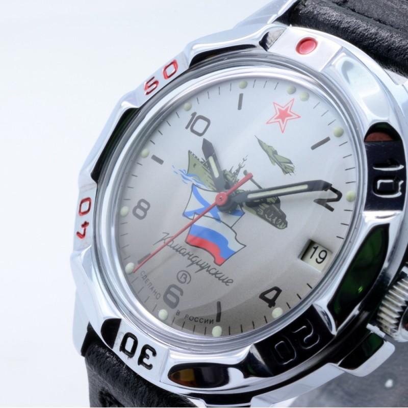 """431535/2414 российские мужские механические наручные часы Восток """"Командирские"""" для военных  431535/2414"""