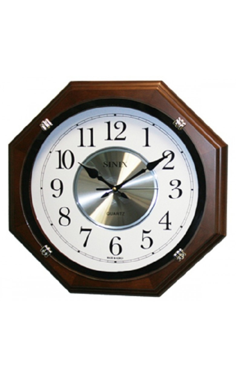 "1075WA Часы настенные кварцевые ""Sinix"""