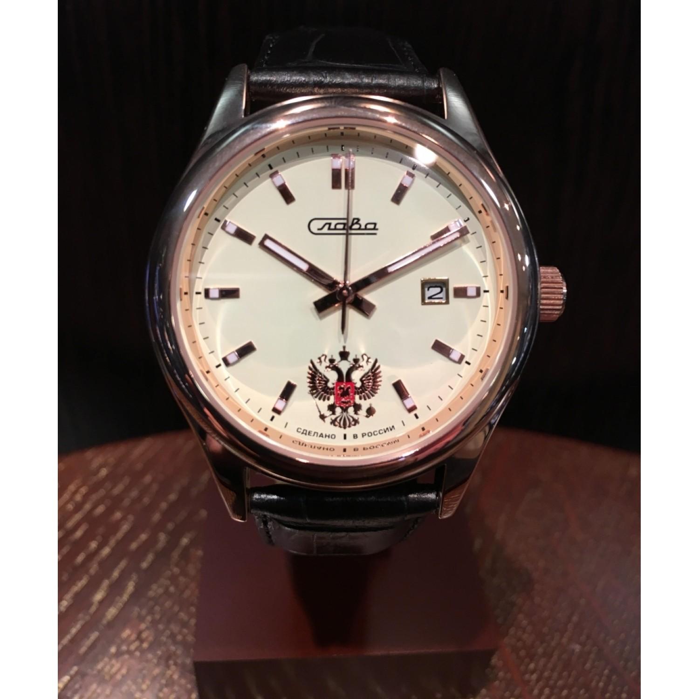 1363757/300-2414 российские механические наручные часы Слава