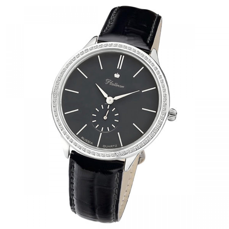 """10250 Олимп российские серебрянные мужские кварцевые часы Platinor """"Олимп""""  10250 Олимп"""