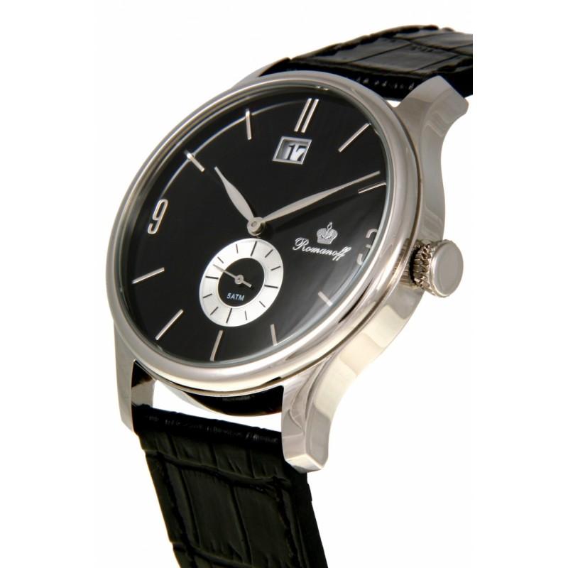 """30521G3BL российские мужские кварцевые часы Romanoff """"Классика""""  30521G3BL"""