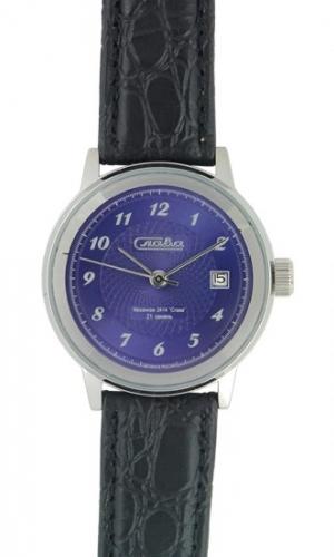 """2081965/300-2414 российские механические наручные часы Слава """"Ретро"""" для мужчин  2081965/300-2414"""