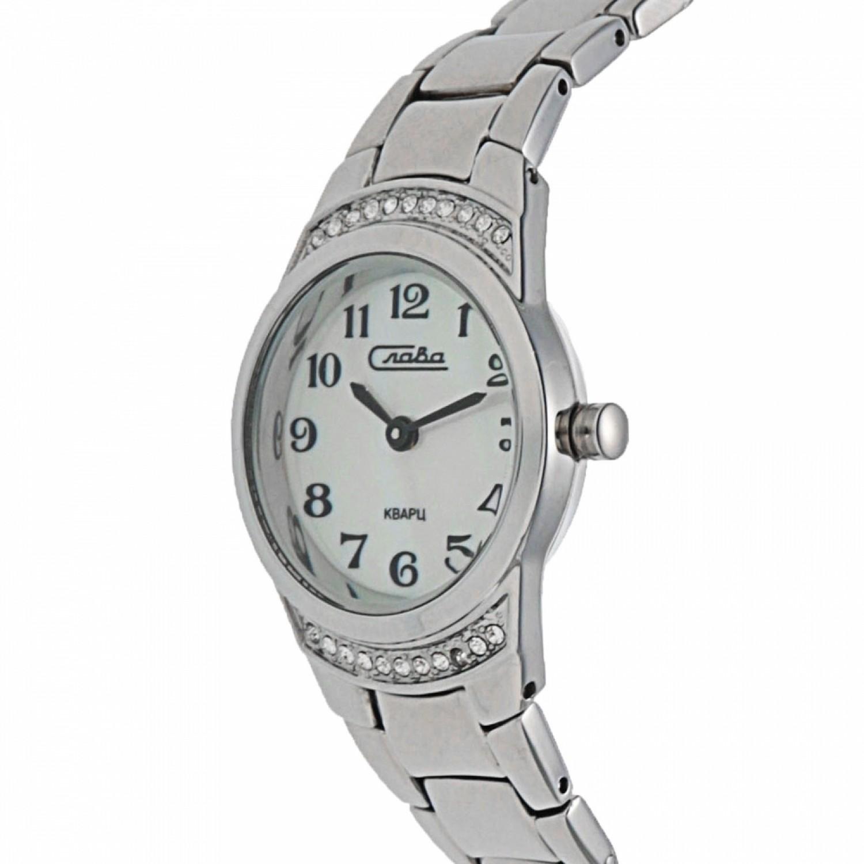 """6191376/2025 российские кварцевые наручные часы Слава """"Инстинкт"""" для женщин  6191376/2025"""