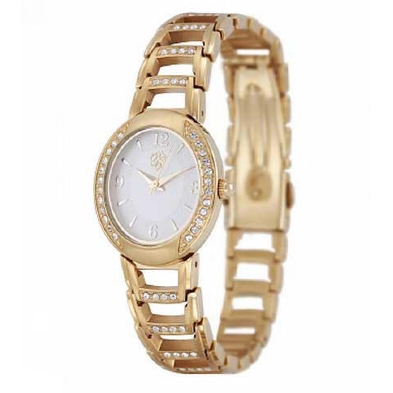 763/7156 российские кварцевые наручные часы Полёт-Стиль для женщин  763/7156