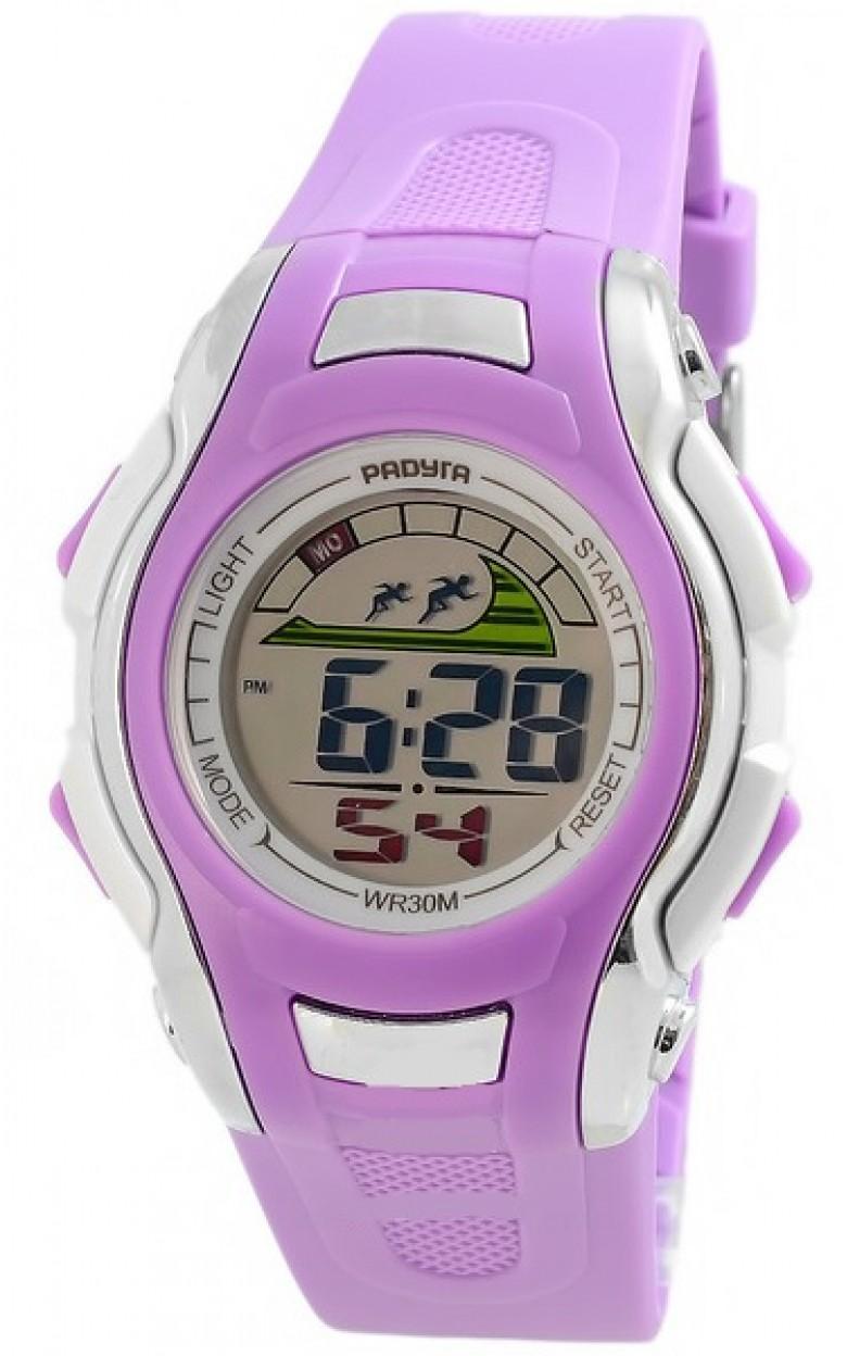 451 фиолетовые российские детские кварцевые наручные часы Радуга  451 фиолетовые
