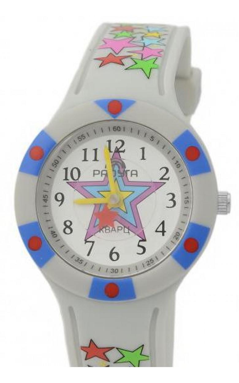 112 серые звезды российские детские кварцевые наручные часы Радуга  112 серые звезды