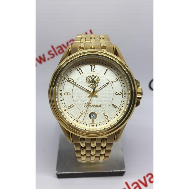 515/7806278П российские мужские кварцевые наручные часы Полёт-Стиль  515/7806278П