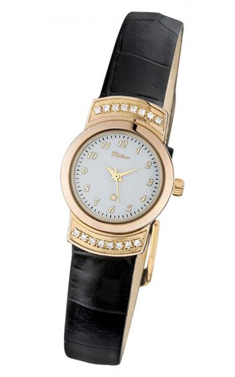 28136.105 российские золотые кварцевые наручные часы Platinor