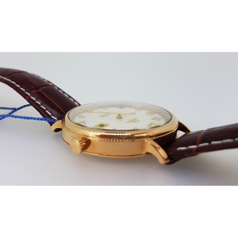126.6.9015 российские золотые мужские механические часы Continent  126.6.9015