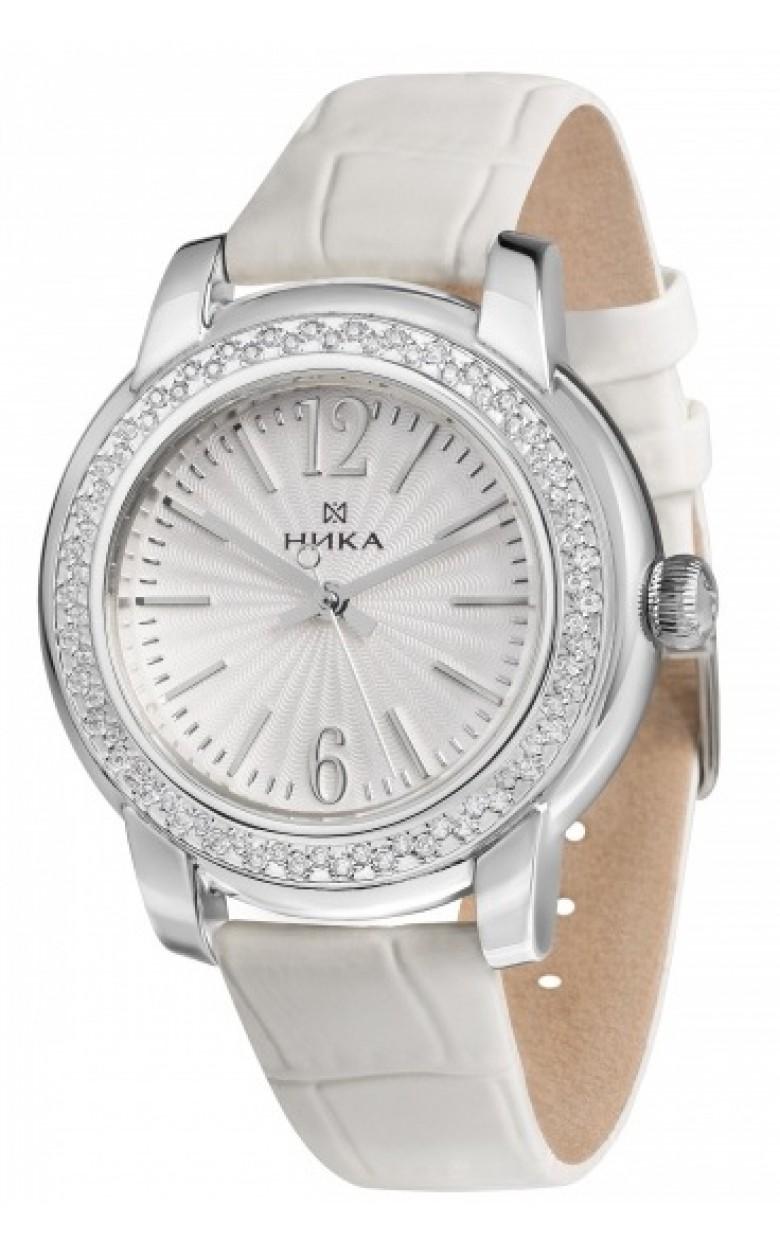 """1274.2.9.14B российские серебрянные женские механические наручные часы Ника """"Celebrity""""  1274.2.9.14B"""