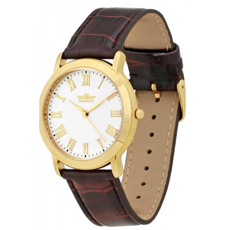 2035/8096136 российские мужские кварцевые часы Полёт-Стиль  2035/8096136