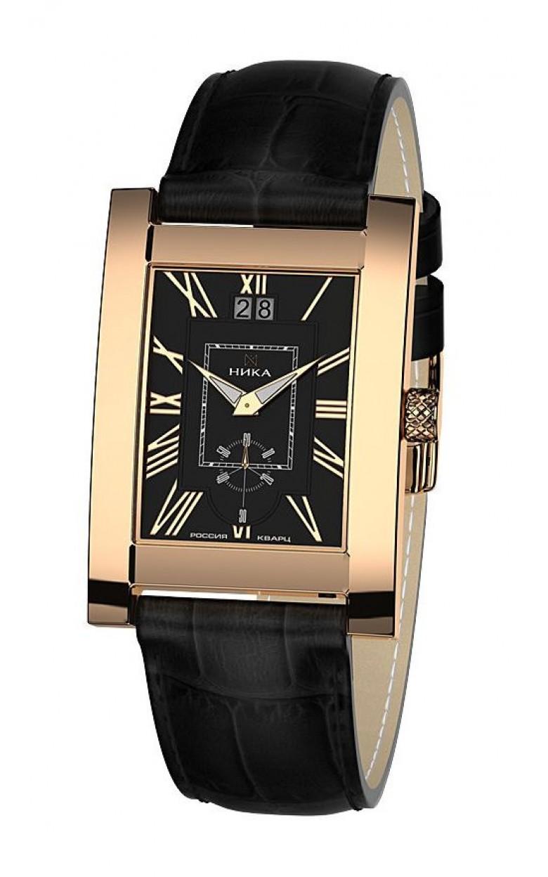 1041.0.1.51Н российские золотые мужские кварцевые часы Ника