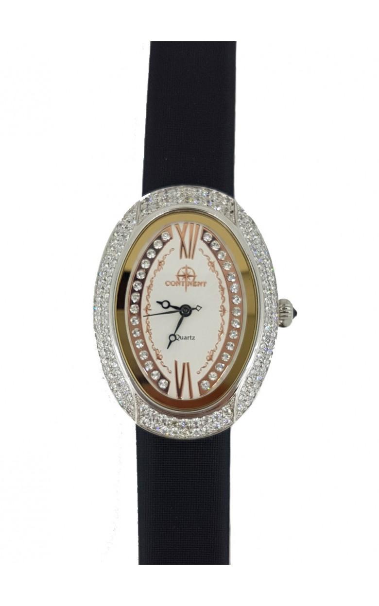 321.1.763 российские серебрянные кварцевые наручные часы Continent для женщин  321.1.763