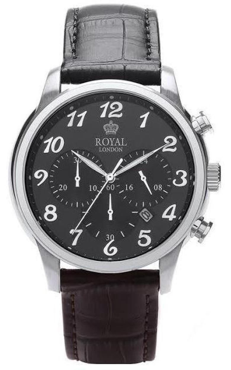 41216-02  кварцевые наручные часы Royal London