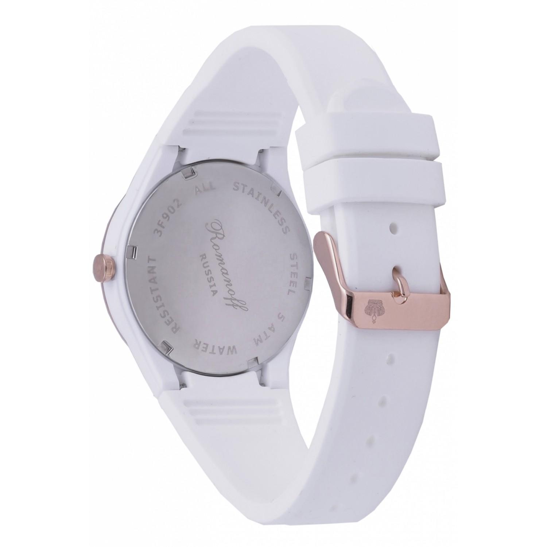 3902B1W российские женские кварцевые наручные часы Romanoff  3902B1W