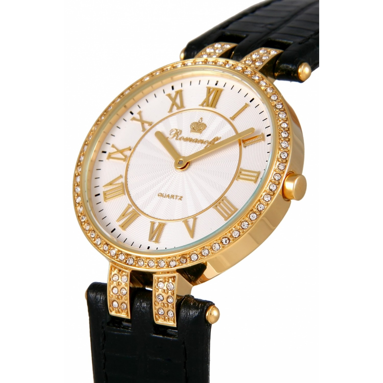 10393A1BL российские кварцевые наручные часы Romanoff