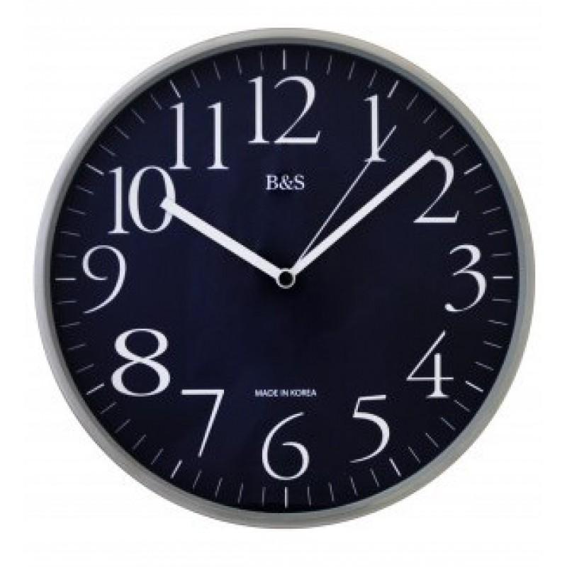 YN-7712  кварцевые настенные часы B&S  YN-7712