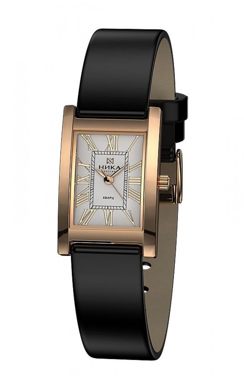 0425.0.1.21Н-6,17 российские золотые женские кварцевые наручные часы Ника