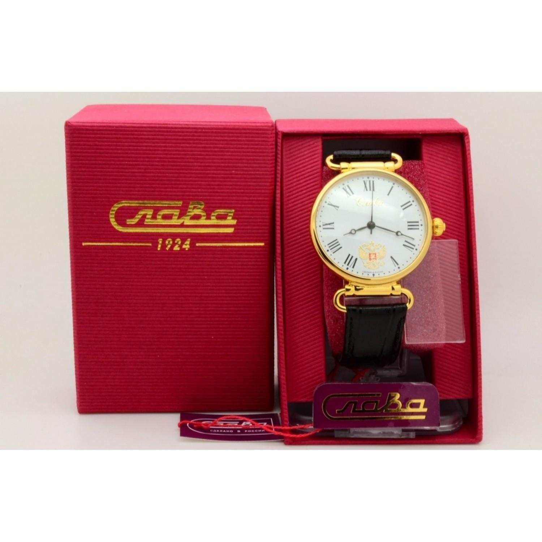 8089069/300-2409 российские механические наручные часы Слава