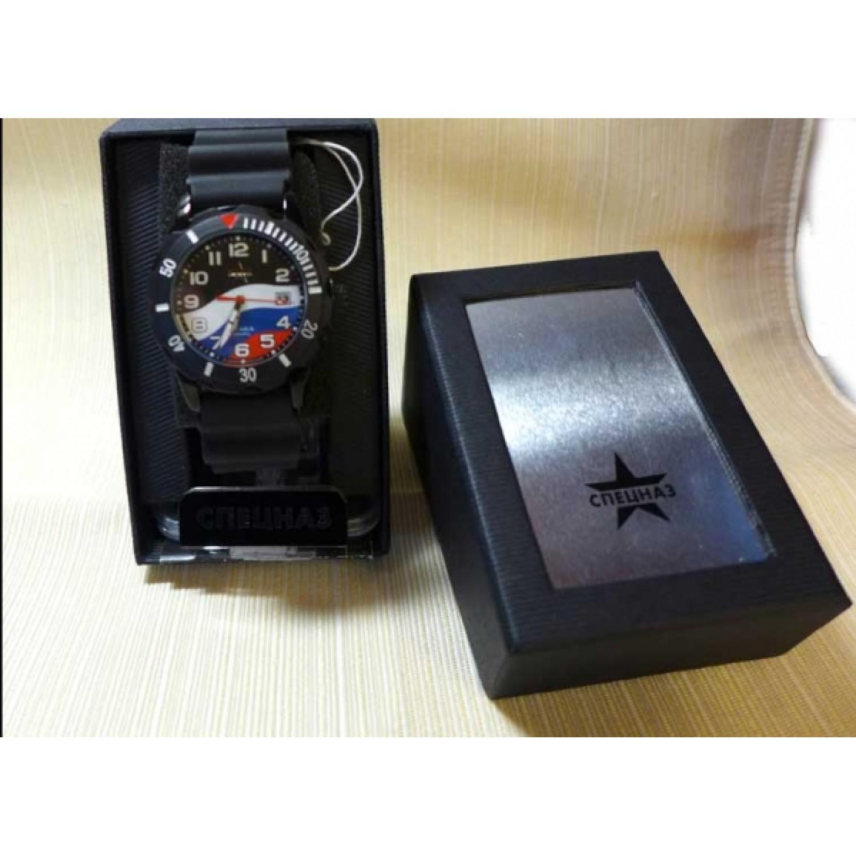 """С2134275-08 российские военные мужские кварцевые наручные часы Спецназ """"Атака""""  С2134275-08"""