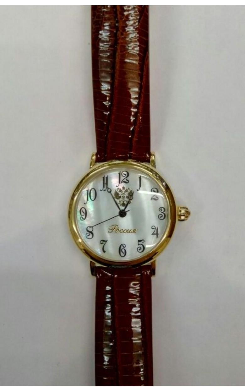 5100/1866029П российские кварцевые наручные часы Полёт-Стиль для женщин  5100/1866029П