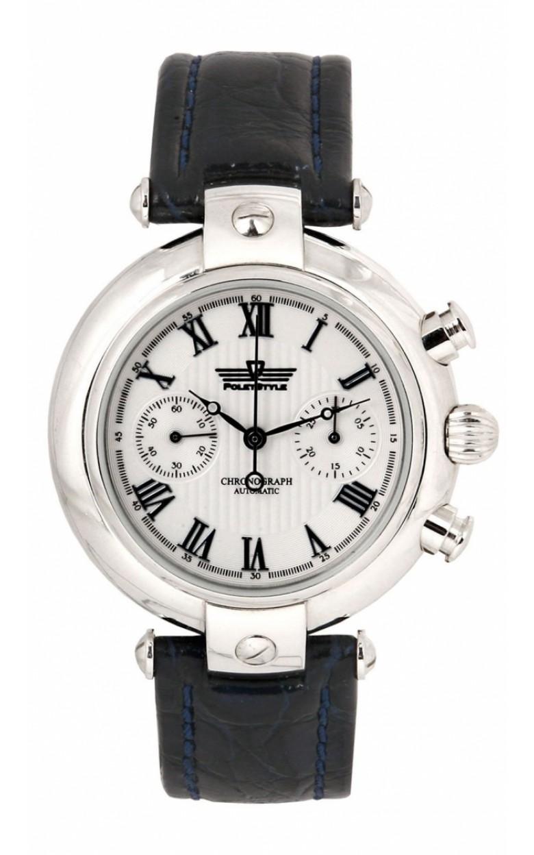 3140/4441225 российские серебряные механические наручные часы Полёт-Стиль для мужчин  3140/4441225
